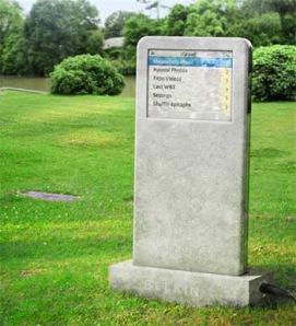iPod Grave